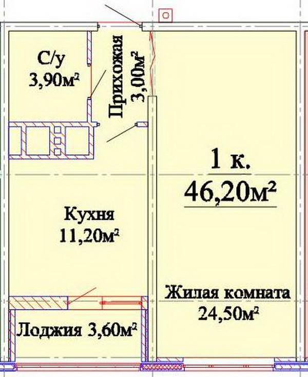 ЖК Альтаир. Звездный городок, Одесса, Таирово. Цены от 887.69 у.е. (фото №5)