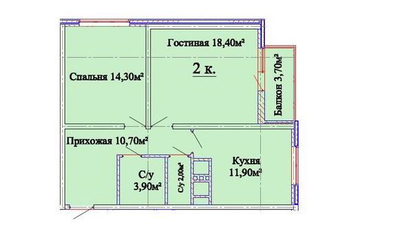 ЖК Альтаир. Звездный городок, Одесса, Таирово. Цены от 887.69 у.е. (фото №7)
