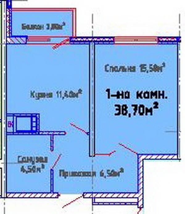 ЖК Альтаир-2, Одесса, Таирово. Цены от 780 у.е. (фото №4)