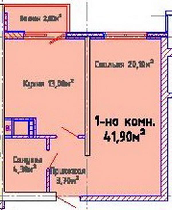 ЖК Альтаир-2, Одесса, Таирово. Цены от 780 у.е. (фото №5)