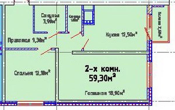 ЖК Альтаир-2, Одесса, Таирово. Цены от 780 у.е. (фото №7)