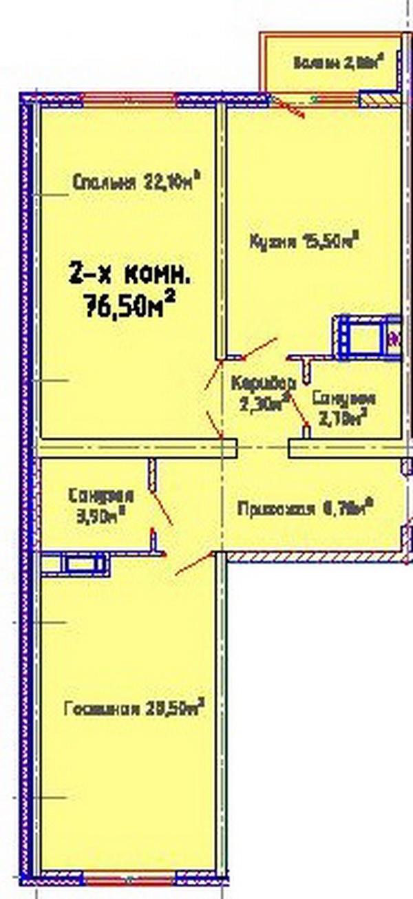 ЖК Альтаир-2, Одесса, Таирово. Цены от 780 у.е. (фото №8)